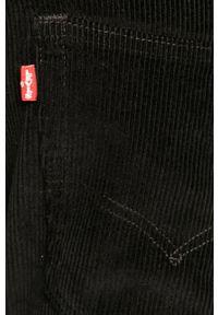 Czarne spodnie Levi's® biznesowe, na spotkanie biznesowe