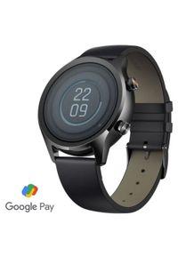 TICWATCH Zegarek C2+, Onyx Black. Rodzaj zegarka: smartwatch. Kolor: czarny