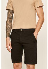 Czarne szorty Pepe Jeans casualowe, gładkie