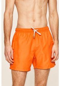 Pomarańczowe kąpielówki John Frank