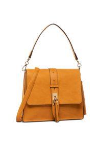 Pomarańczowa torebka klasyczna Aldo klasyczna
