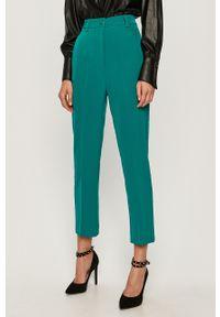 Spodnie materiałowe Guess Jeans z podwyższonym stanem