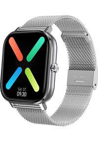 Smartwatch Pacific 20-3 Srebrny (PACIFIC 20-3 silver). Rodzaj zegarka: smartwatch. Kolor: srebrny