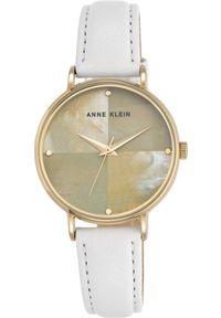 Biały zegarek Anne Klein