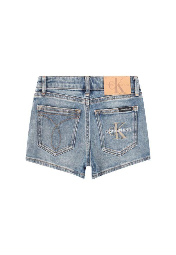 Niebieskie spodenki Calvin Klein Jeans