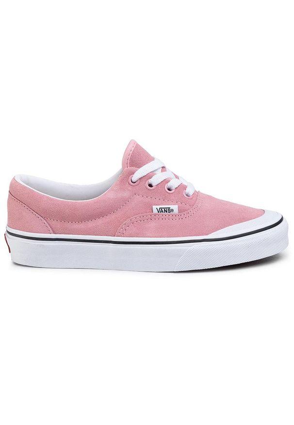 Różowe trampki Vans