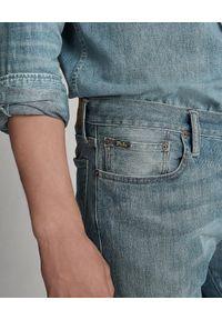 Ralph Lauren - RALPH LAUREN - Jeansy Varick Slim Straight. Okazja: na co dzień. Kolor: niebieski. Styl: klasyczny, elegancki, casual