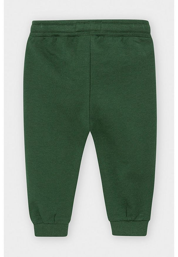 Zielone spodnie dresowe Mayoral na co dzień