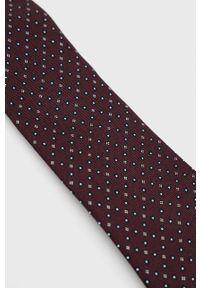 TIGER OF SWEDEN - Tiger Of Sweden - Krawat. Kolor: czerwony. Materiał: materiał