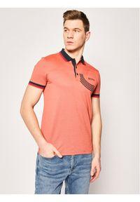 Pomarańczowa koszulka polo BOSS polo