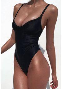 Czarny strój kąpielowy IVET