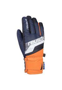 Rękawice narciarskie dla dzieci Reusch Dario R-Tex 4961212. Materiał: poliester, skóra, materiał, syntetyk. Sport: narciarstwo