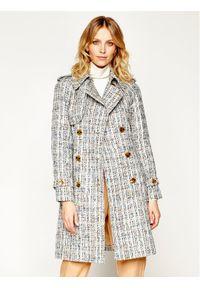 Płaszcz przejściowy Luisa Spagnoli w kolorowe wzory