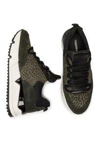 Zielone buty sportowe Togoshi