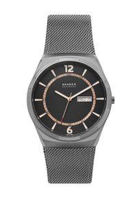 Skagen - Zegarek SKW6575. Kolor: szary. Materiał: materiał