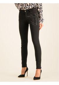 Czarne jeansy slim Just Cavalli