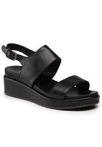 Czarne sandały The FLEXX