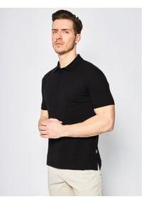 Czarna koszulka polo Cavalli Class polo