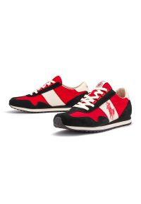 Sneakersy Ralph Lauren z cholewką, w kolorowe wzory