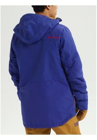 Burton Kurtka snowboardowa Breach 10180106400 Granatowy Regular Fit. Kolor: niebieski. Sport: snowboard #4