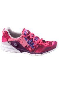 Czerwone buty do biegania Reebok z cholewką, w kolorowe wzory