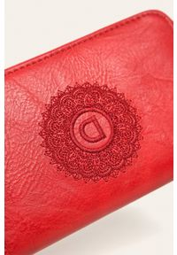 Czerwony portfel Desigual