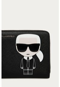 Czarny portfel Karl Lagerfeld