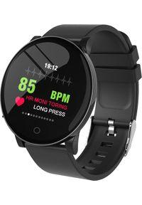 Czarny zegarek TRACER smartwatch