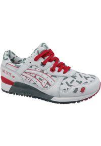 Białe sneakersy Asics lifestyle Asics Gel Lyte, z cholewką