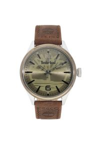 Brązowy zegarek Timberland #4