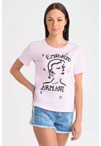 Emporio Armani - T-SHIRT emporio armani. Materiał: materiał