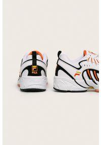 Wielokolorowe buty sportowe Fila na sznurówki, z cholewką