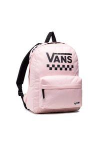 Vans Plecak Street Sport Real VN0A49ZJZJY1 Różowy. Kolor: różowy. Styl: street, sportowy