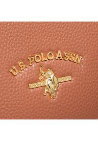 U.S. Polo Assn - Torebka U.S. POLO ASSN. - Stanford S Shoping BEUSS5177WVP500 Brwon. Kolor: brązowy. Materiał: skórzane. Styl: klasyczny. Rodzaj torebki: na ramię