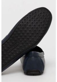 Call It Spring - Mokasyny AVERY. Nosek buta: okrągły. Kolor: niebieski. Materiał: guma