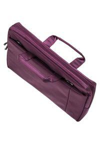 Fioletowa torba na laptopa RIVACASE elegancka
