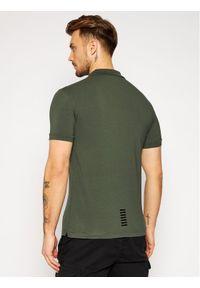 Zielona koszulka polo EA7 Emporio Armani polo