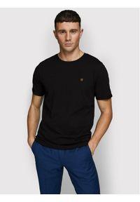 Jack&Jones PREMIUM T-Shirt Blahardy 12166527 Czarny Slim Fit. Kolor: czarny