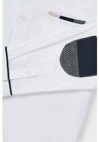Biała koszula Mayoral z długim rękawem, długa, klasyczna