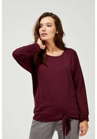 Bluza MOODO bez kaptura, z długim rękawem, długa