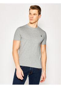 Polo Ralph Lauren T-Shirt Bsr 710680785 Szary Custom Slim Fit. Typ kołnierza: polo. Kolor: szary