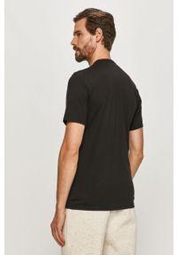 Czarny t-shirt Calvin Klein Underwear z aplikacjami, na co dzień, casualowy