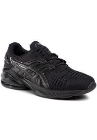 Czarne buty sportowe Asics z cholewką, na co dzień