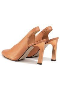 Brązowe sandały Karino casualowe, na co dzień #7