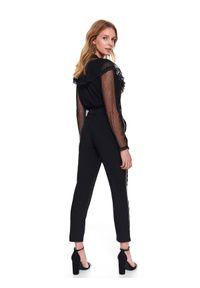 Czarne spodnie TOP SECRET na zimę, eleganckie