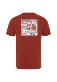 Czerwona koszulka sportowa The North Face