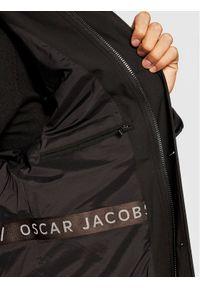 Oscar Jacobson Płaszcz przejściowy Johnsson 7117 6567 Czarny Regular Fit. Kolor: czarny