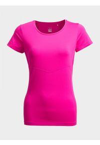 Różowa koszulka termoaktywna outhorn