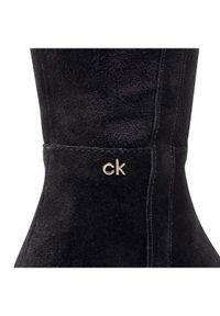 Czarne muszkieterki Calvin Klein