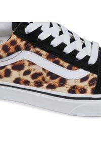 Vans - Tenisówki VANS - Old Skool VN0A4U3B3I61 (Leopard) Black/Truewhite. Okazja: na co dzień. Kolor: czarny. Materiał: materiał, skóra, zamsz. Szerokość cholewki: normalna. Model: Vans Old Skool